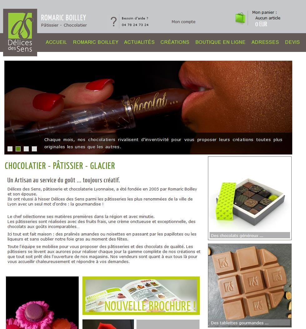 Création site e commerce vente en ligne Lyon 6
