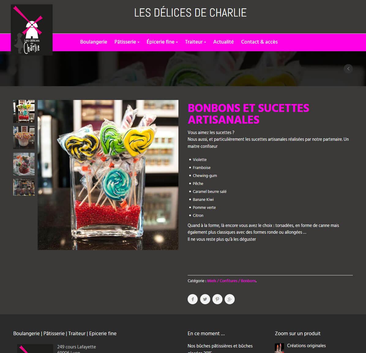 Création site internet vitrine LYON WordPress responsive